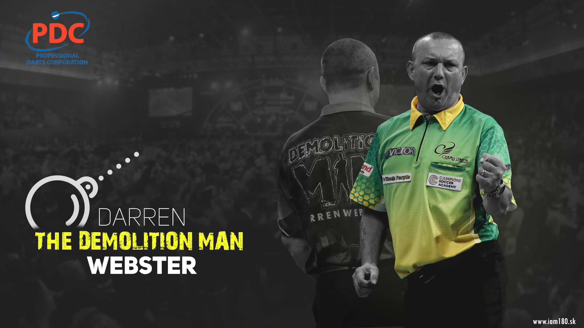 Darren Webster Darts Wallpaper