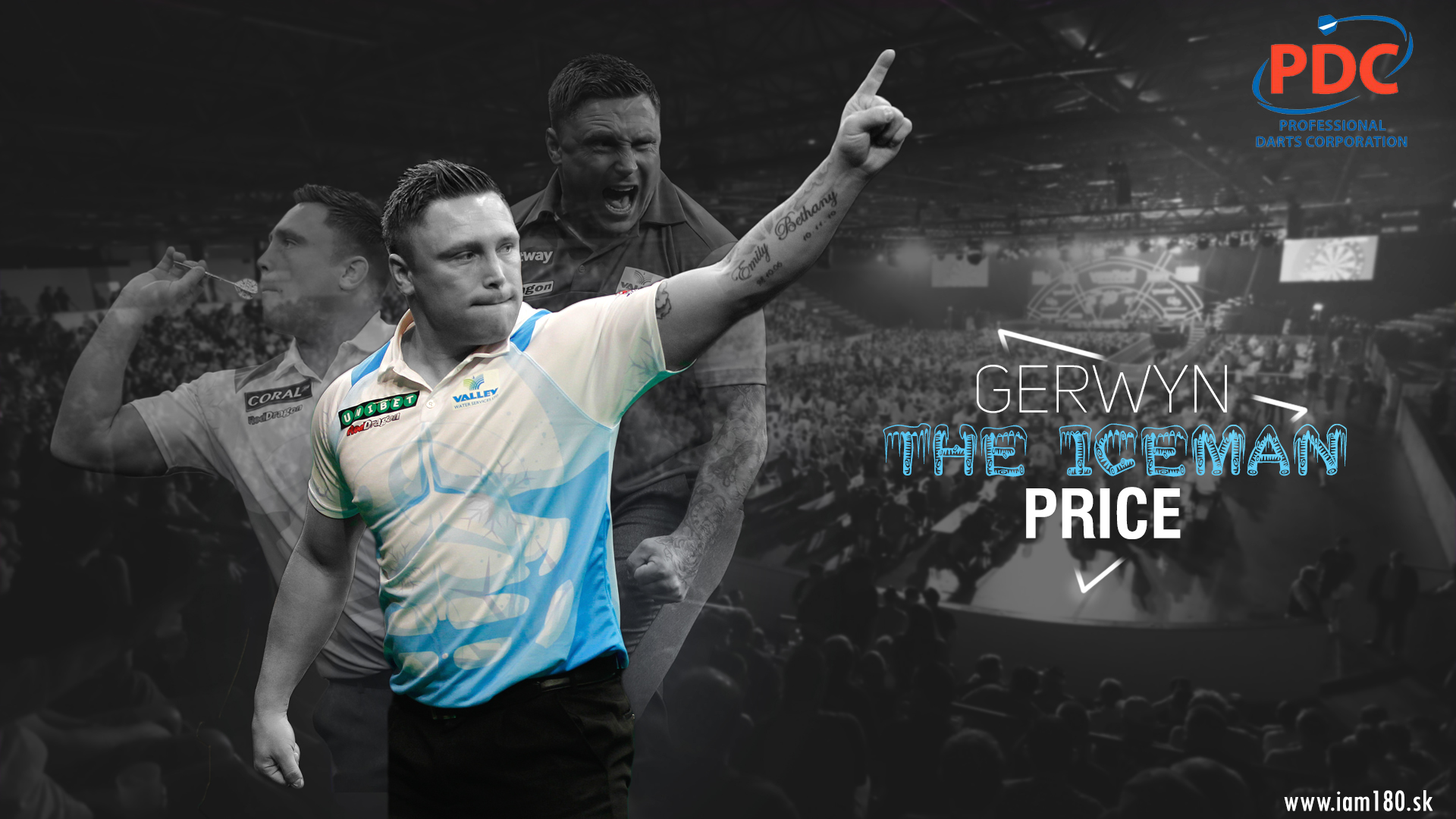 Gerwyn Price Darts Wallpaper