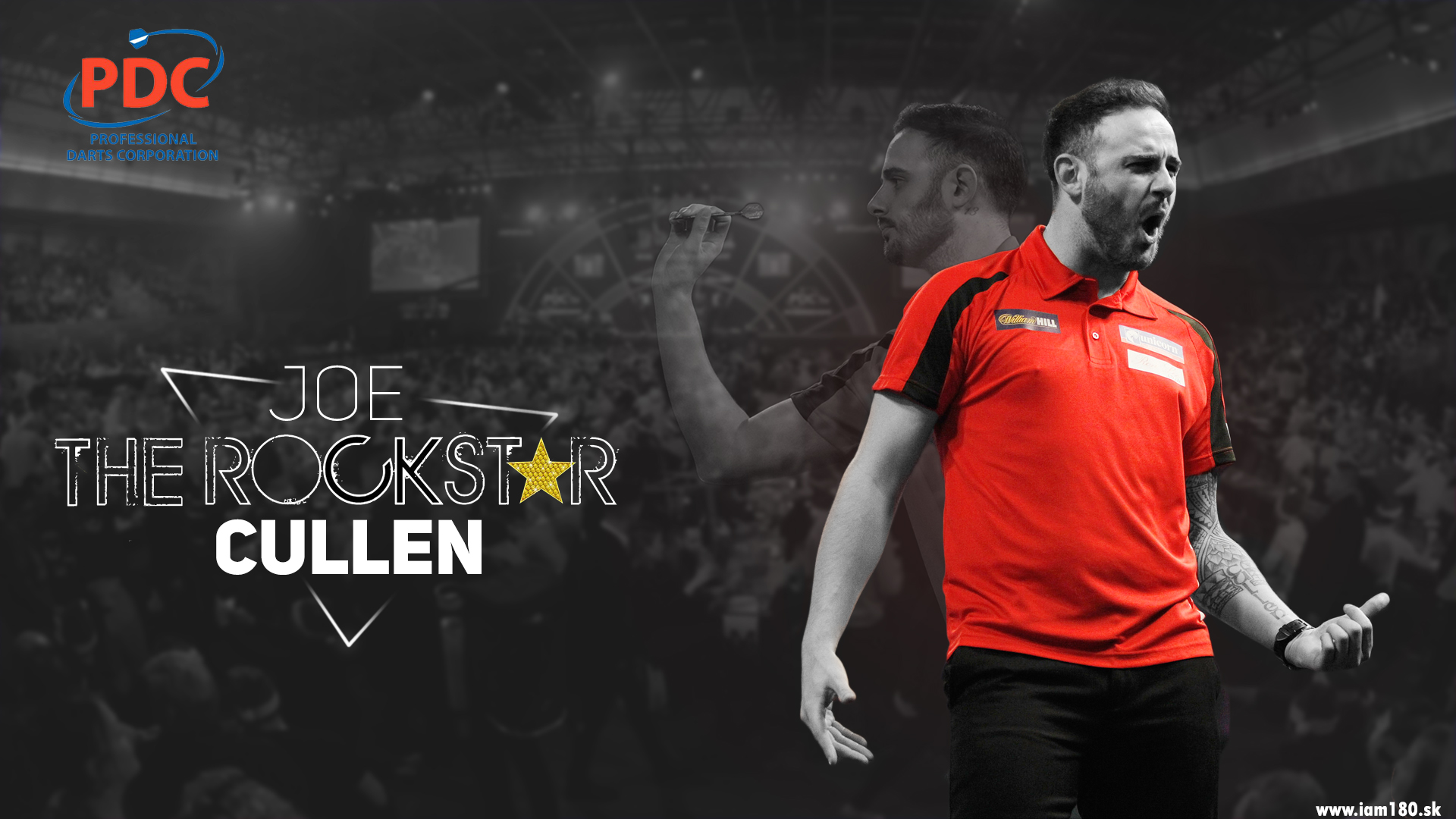 Joe Cullen Darts Wallpaper
