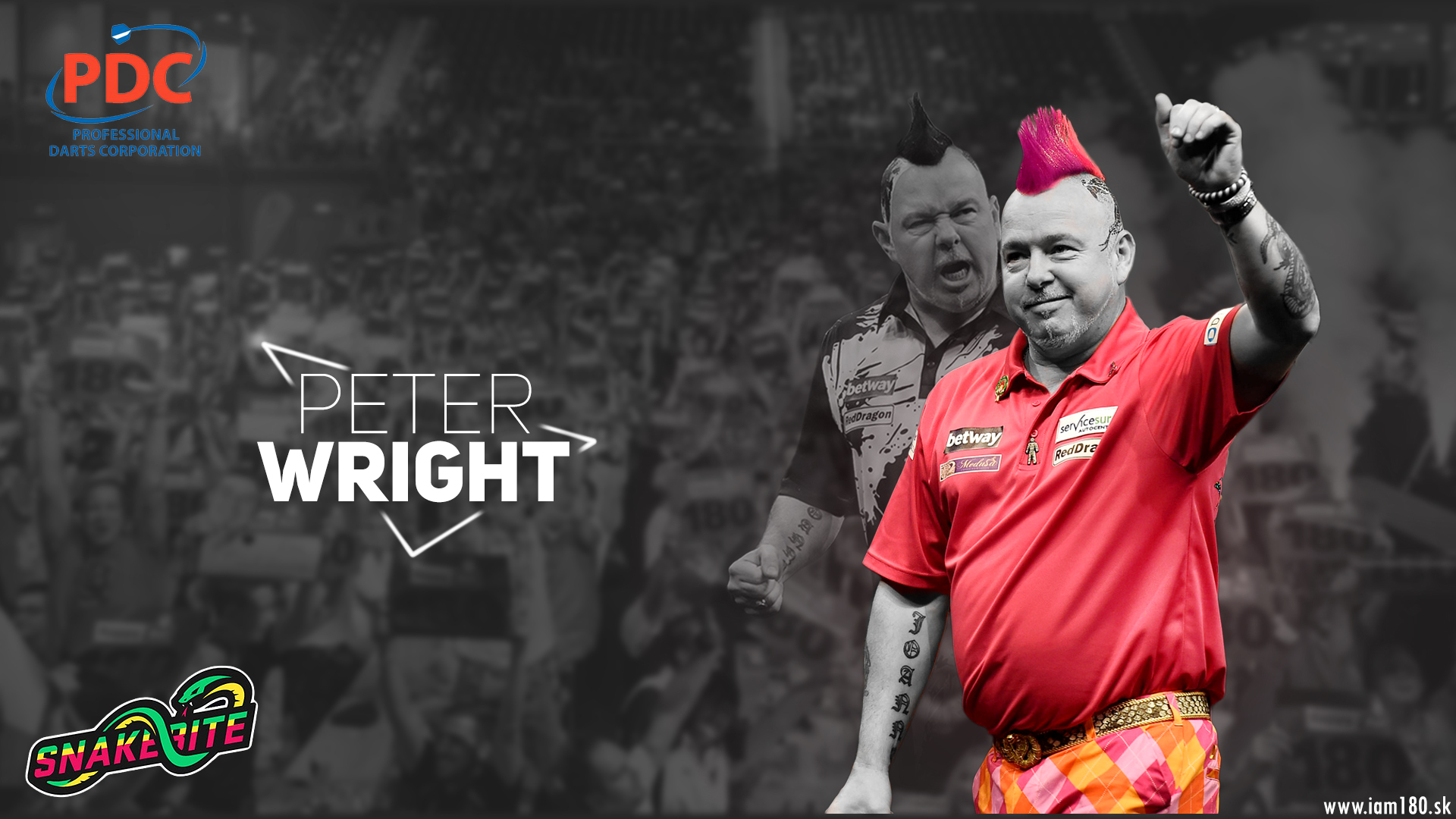Peter Wright Darts Wallpaper