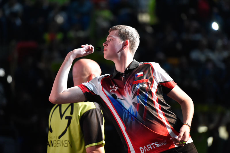 David Písek na Prague Darts Masters