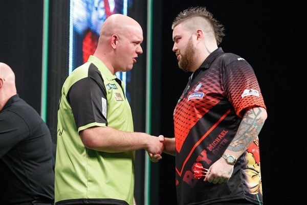 Michael van Gerwen a Michael Smith