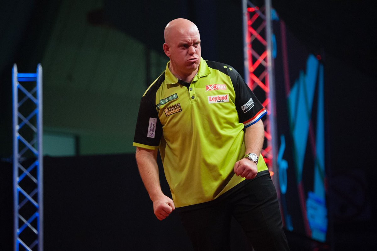 Michael van Gerwen - Mighty Mike - Šípky