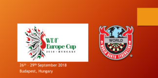 WDF Europe Cup 2018