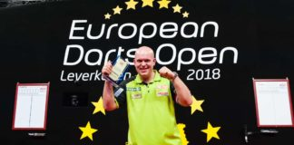 Michael van Gerwen - víťaz European Darts Open 2018