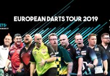 PDC European Tour 2019 banner